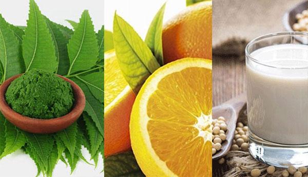 12 mặt nạ cam giúp bạn làm đẹp đón Tết Tân Sửu 2021 - la neem cam đau nanh 2