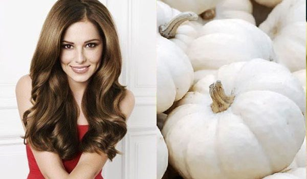 15 lợi ích tốt nhất của bí ngô trắng đối với làn da, mái tóc và sức khỏe - bi ngo trang giup moc toc 600x350