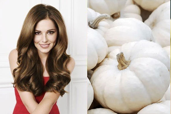 15 lợi ích tốt nhất của bí ngô trắng đối với làn da, mái tóc và sức khỏe - bi ngo trang giup moc toc
